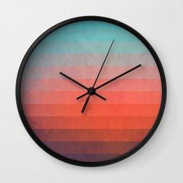 Blww wytxynng Wall Clock