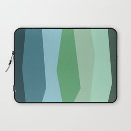 Stripes: Forest Laptop Sleeve