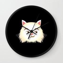 Smirking Cat Wall Clock