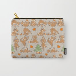 Christmas cookie yoga Carry-All Pouch