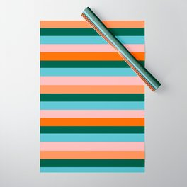 Color Stripe_007 Wrapping Paper