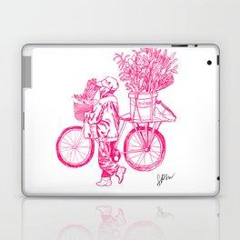 Bicycle Flower Seller in Hanoi Laptop & iPad Skin