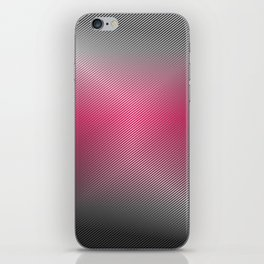 Metallic Hot pink Sheen iPhone Skin