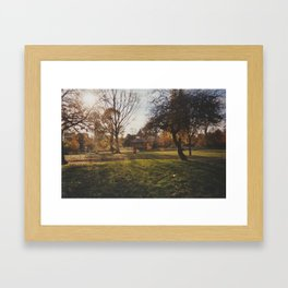 Victoria Park  Framed Art Print