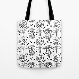 Pattern in Nordic Floral Style #7 Tote Bag