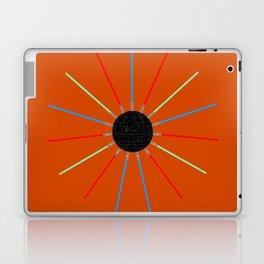 A twinkling Death Star Laptop & iPad Skin