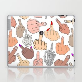 Middle Fingers Laptop & iPad Skin