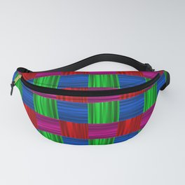 Bright packaging podrarochny drawing. Texture for holiday wrapping paper. Fanny Pack