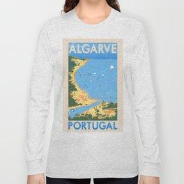 Travel Posters - Algarve Long Sleeve T-shirt