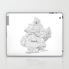 Brooklyn Illustration Laptop & iPad Skin
