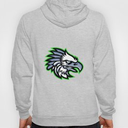American Harpy Eagle Mascot Hoody