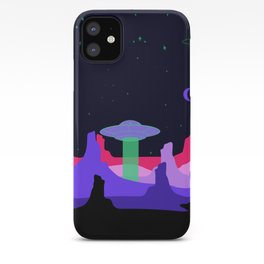 Hello ufo iPhone Case