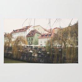 Ljubljana landscape Rug