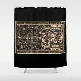 Sala Tumba de Pakal Shower Curtain