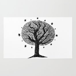 The dreaming tree Rug