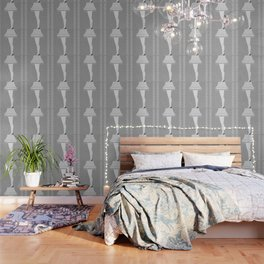 Leg Lamp Grey Wallpaper