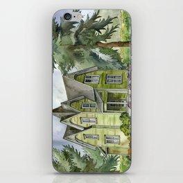 The Green Clapboard House iPhone Skin
