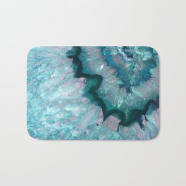 Teal Crystal Bath Mat