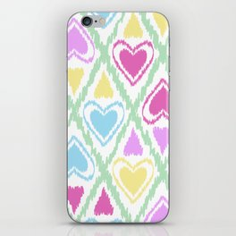 Abstract drawing Heart. iPhone Skin