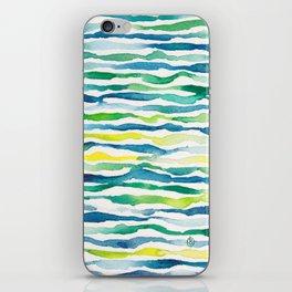 Ocean Zebra Chevron iPhone Skin