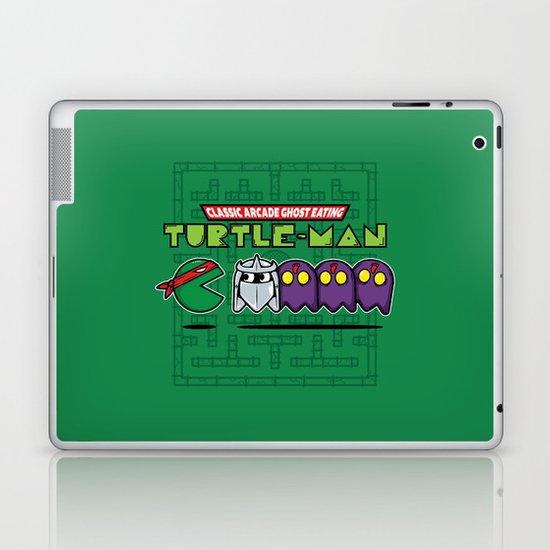 Hero in a Pac-Shell (Raph) Laptop & iPad Skin