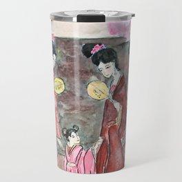 Four ancient Oriental beauties Travel Mug