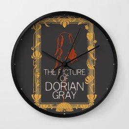 BOOKS COLLECTION: Dorian Gray Wall Clock