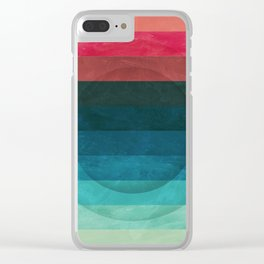 Colors Feels Like We Only Go Backwards - V04 Clear iPhone Case