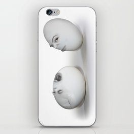 Cracked Egg & a Wink iPhone Skin