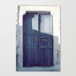 Santorini Door I Canvas Print