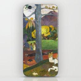 Mata Mua by Paul Gauguin iPhone Skin