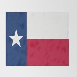 Lone Star ⭐ Texas State Flag Throw Blanket
