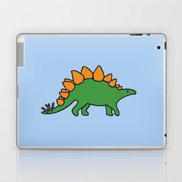 Cute Stegosaurus Laptop & iPad Skin