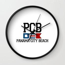 Panama City - Florida. Wall Clock