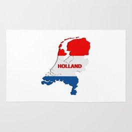 Holland map Rug