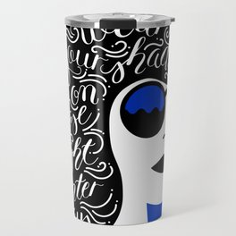 Wear Your Shades On Those Winter Days Travel Mug