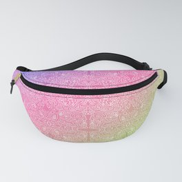 talk about a neon morning doodle, bright Fanny Pack