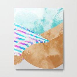 Freestyle #painting #illustration Metal Print
