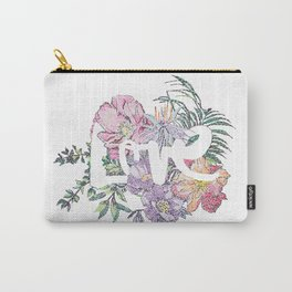 For the Love of Flowers Carry-All Pouch
