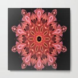 Candles Kaleidoscope Art By Saribelle Rodriguez Metal Print