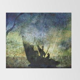 Charon Trip / Strange Trip Throw Blanket