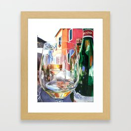 Burano Glass Framed Art Print