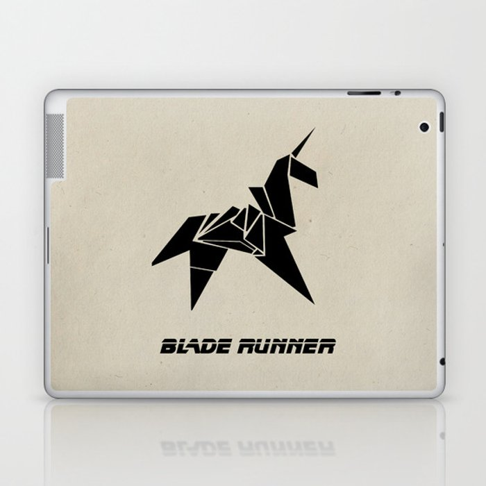 Blade Runner Rachels Origami Laptop Ipad Skin By Thecansone