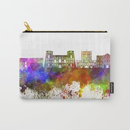 Tarento skyline in watercolor background Carry-All Pouch