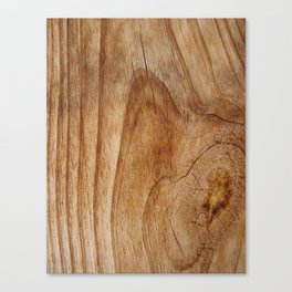 Natural Wood Texture for Wood Artworks Lovers. Canvas Print