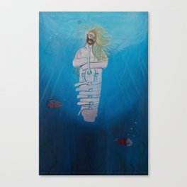 Just Breath Canvas Print