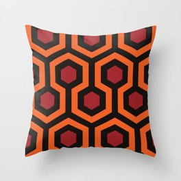 The Shining by Adam Armstrong Throw Pillow