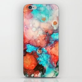 Ink colorful iPhone Skin
