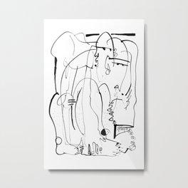 Therapy - b&w Metal Print