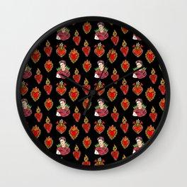 Sacred Hearts and Frida Wall Clock